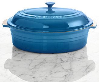 Le Creuset Enameled Stoneware 5.75 Qt. Covered Oval Baking Dish