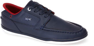 Lacoste Men's Deck-Minimal Leather Sneakers