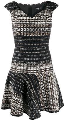 Paule Ka woven mini dress