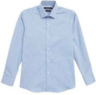 Andrew Marc Diamond Print Dress Shirt