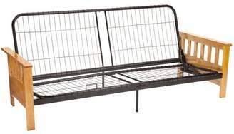 Comfort Style Arts & Crafts Mission-Style Futon Frame, Multiple Sizes & Finishes