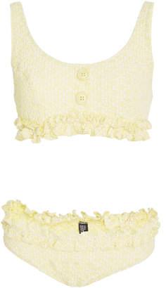 Lisa Marie Fernandez Colby Ruffle Bikini Set