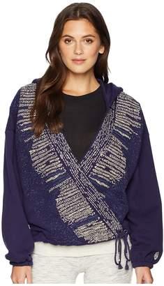 Free People Movement Sashiko Wrap Hoodie Women's Sweatshirt