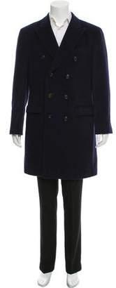 Brunello Cucinelli Wool Button-Up Coat