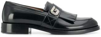 Givenchy G buckle penny loafer