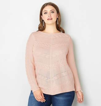 Avenue Miter Stitch Pullover