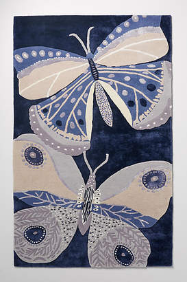 Paule Marrot Tufted Butterfly Rug Swatch