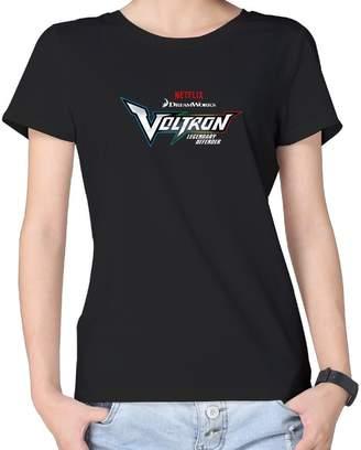 927eeaa6 Lianfa Women's Girls Voltron Legendary Defender Logo V Neck T Shirts
