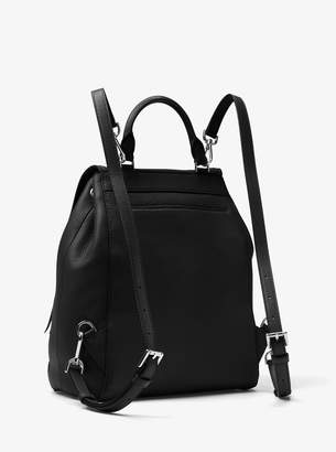 MICHAEL Michael Kors Evie Medium Leather Backpack