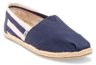 Toms Classic University Stripe Slip-On