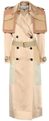 Valentino Satin trench coat