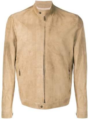 Salvatore Santoro band collar zipped jacket