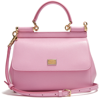 DOLCE & GABBANA Sicily small leather cross-body bag $1,395 thestylecure.com