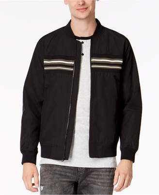 American Rag Men's Chest-Stripe Bomber Jacket