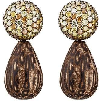 VRAM Women's Tau Palm Drop Earrings