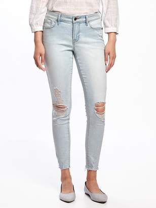 Old Navy Mid-Rise Light-Wash Rockstar Ankle Jeans for Women