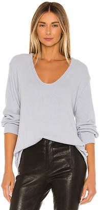 Enza Costa Long Sleeve Sweater
