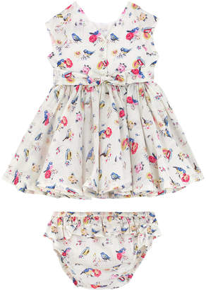 Cath Kidston Bird Ditsy Baby V-Back Dress
