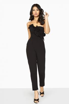 4ae5749488 Girls On Film Halcyon Frill Jumpsuit