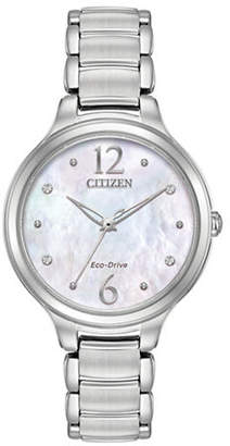 Citizen Eco-Drive Stainless Steel Sapphire Crystal Watch
