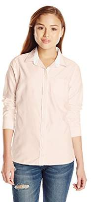 U.S. Polo Assn. Juniors' Long Sleeve Solid Oxford Woven Shirt