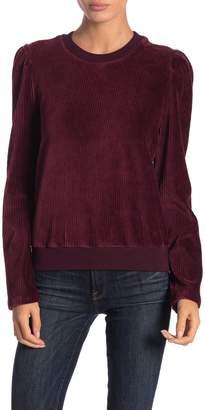LE LIS Brushed Corduroy Sweater