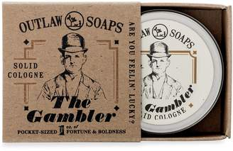 Outlaw Soaps The Gambler Solid Cologne - Cologne that smells like Bourbon, Tobacco, and Leather for the true Southern Gentleman (or a person going undercover as a Southern gentleman)