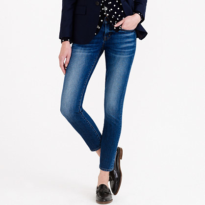 J.Crew Tall toothpick Japanese selvedge jean in hulton wash