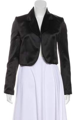 Christian Dior Satin Cropped Jacket
