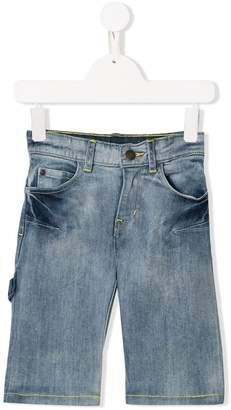 Little Marc Jacobs bleached denim shorts
