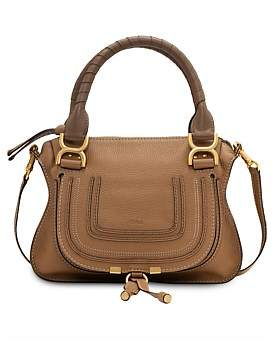 Chlo Marcie Small Calf Skin Double Carry Bag