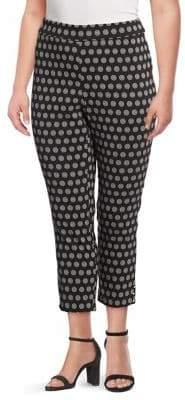 Rafaella Plus Printed Pull-On Pants
