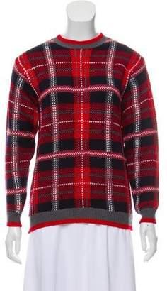 Miu Miu Virgin Wool Knit Sweater