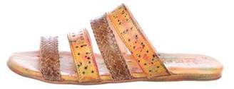 Bed Stu Henna Slide Sandals
