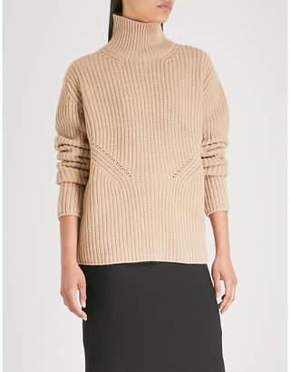 NINETY PERCENT Turtleneck wool and cashmere-blend knit jumper
