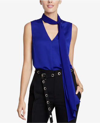 Rachel Roy Jasper Tie-Neck Top, Created for Macy's