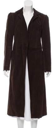 Marni Long Suede Coat