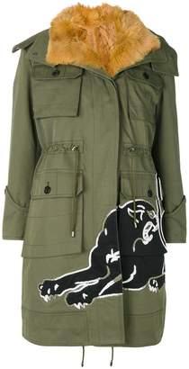 Valentino (ヴァレンティノ) - Valentino パンサー柄 フード付きジャケット