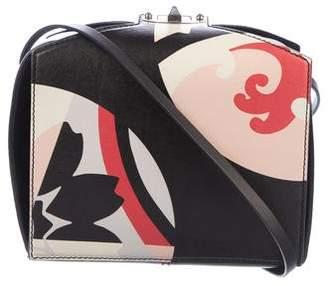 Alexander McQueen Printed Leather Shoulder Bag