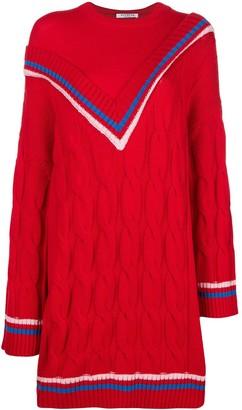 VIVETTA contrast V knit jumper