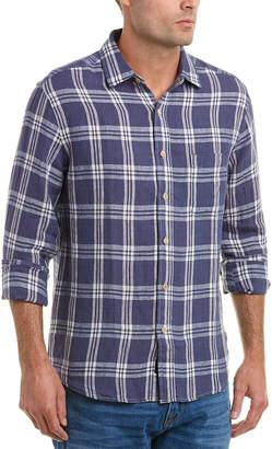Faherty Ventura Linen Woven Shirt