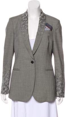 Paul Smith Virgin Wool Structured Blazer