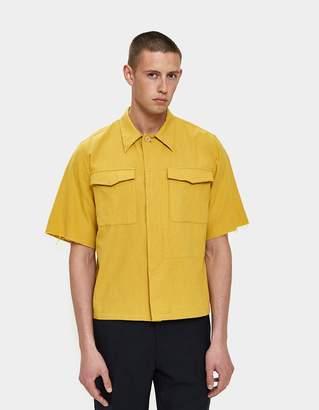 Dries Van Noten Carnegie Shirt in Yellow