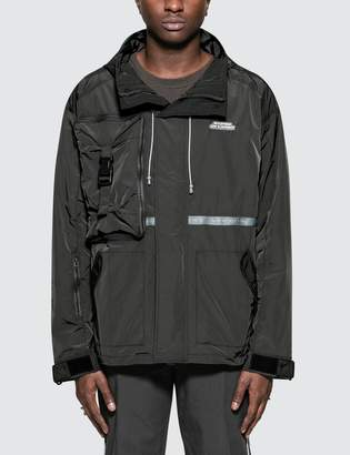 C2h4 Los Angeles Utility Concealed Pocket Data Cable Windbreaker