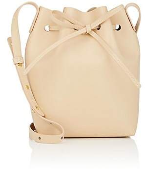 Mansur Gavriel Women's Mini Leather Bucket Bag - Natural