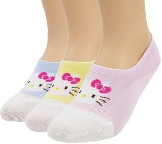 Hello Kitty JJMax Women's Cute Cotton Blend Ankle Socks Set.