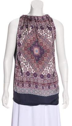 W by Worth Sleeveless Printed Blouse