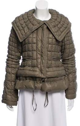 Ermanno Scervino Quilted Down Jacket