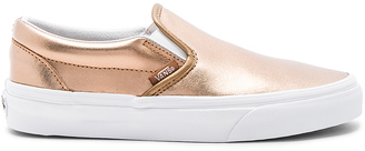 Vans Classic Slip On Sneaker $60 thestylecure.com
