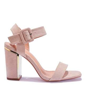 1b22be9c03b Nude High Heel Sandals - ShopStyle UK